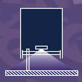 Schnittdarstellung Profil 3 Buchstabe (Leuchtbuchstaben-Neon-Profilbuchstaben-LED)