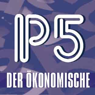Leuchtbuchstaben-LED-Profilbuchstaben-Neon-Deckblatt DER ÖKONOMISCHE